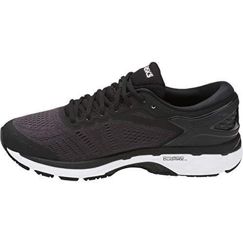 ASICS Mens Gel-Kayano 24 Running Shoe Black/Phantom/White 6.5 Medium US by ASICS (Image #1)