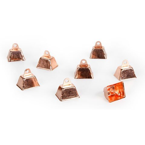 - Darice Bulk Buy DIY Cowbell Copper 1.25 inches 12 Pieces (1-Pack) 10149