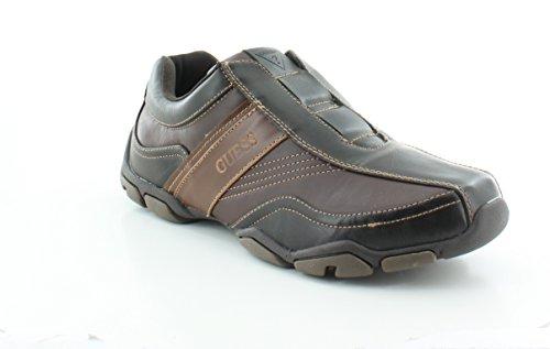 GUESS Sanders Brown Leather Sneaker