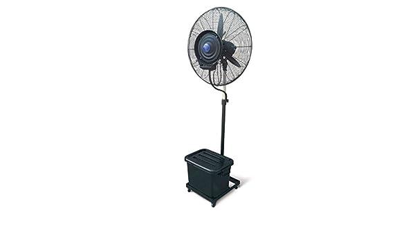 Hjm - Ventilador Pie Alta Pot.230W 65Cm 3Vel. Con Nebulizador ...