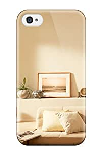 Anti-scratch And Shatterproof Interior Design Phone Case For Iphone 4/4s/ High Quality Tpu Case