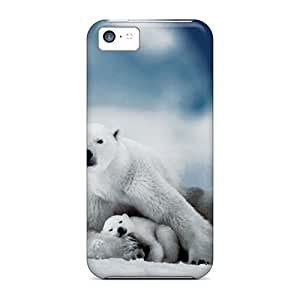 Ideal Ice Cream Song Case Cover For Iphone 5c(polar Bear), Protective Stylish Case