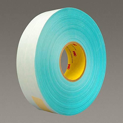 (3M 17520-case Printable Repulpable Single Coated Splicing Tape 9103, 36 mm x 55 m, Blue (Pack of 24))