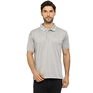 CHKOKKO Men's Gym Regular Fit Polo Half Sleeves T-Shirt