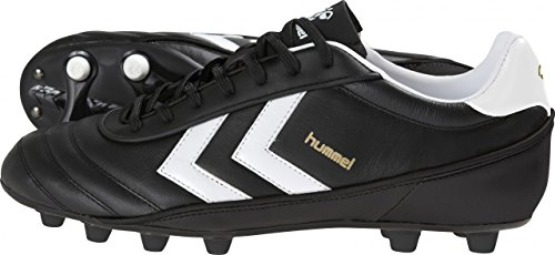 Hummel OLD SCHOOL – Chaussures de football, Noir/Blanc/Or