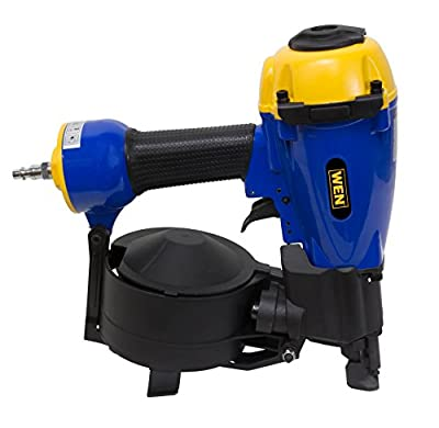 WEN 61782 3/4-Inch to 1-3/4-Inch Pneumatic Coil Roofing Nailer - Power Roofing Nailers -