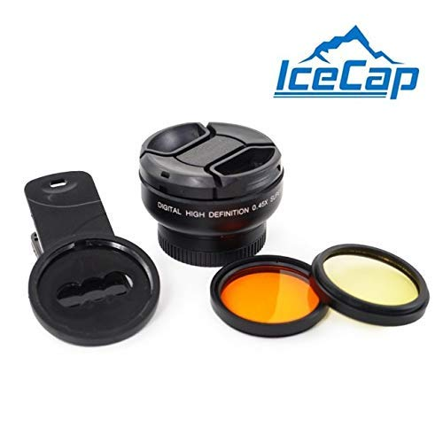Stackable Clip-on Multi-Lens Kit for Mobile - IceCap from IceCap