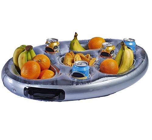 SeedWorld Bathtub Safety Rails - Inflatable Spa Bar Hot Tub Spas Floating Drinks and Food Holder Tray Life Range 1 PCs