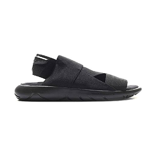 adidas Y-3 by Yohji Yamamoto Qasa Elle Sandal, Core Black, UK 8 (US Women's 9.5) M