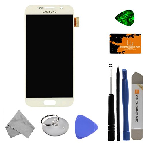 LCD & Digitizer Assembly for Samsung Galaxy S6 (White) (OEM) with Tool Kit by Wholesale Gadget Parts