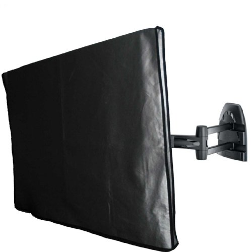 Marine Grade Nylon 32'' TV Dust Cover   (31.75'' wide x 3.75'' deep x 23'' high) Ideal for outdoor locations such as Restaurants, Hotels, Marinas or Poolside Locations. by Viziflex (Image #1)