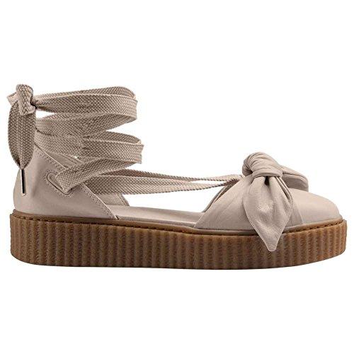 効能過激派場合(プーマ) PUMA レディース テニス シューズ?靴 Fenty Bow Creeper Sandal [並行輸入品]