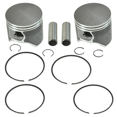 SPI, SM-09279, 2 Piston Kits Most 2011-2016 Polaris 800 Snowmobiles Standard Bore 85mm