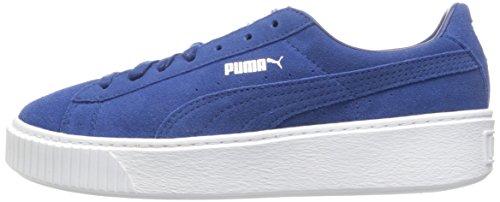 PUMA Women's Suede Platform core Fashion Sneaker Peacoat, 9.5 M US by PUMA (Image #5)