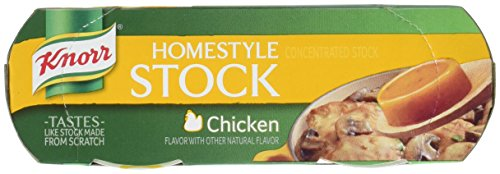 Price comparison product image Knorr Homestyle Stock Concentrated Broth,  Chicken 4.66 oz,  4 ct (Pack of 4)