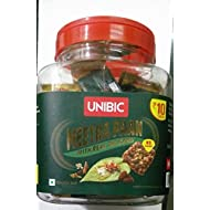 Unibic Meetha Paan with Real Gulkand - Snack Bar 10g x 36pcs Jar - India
