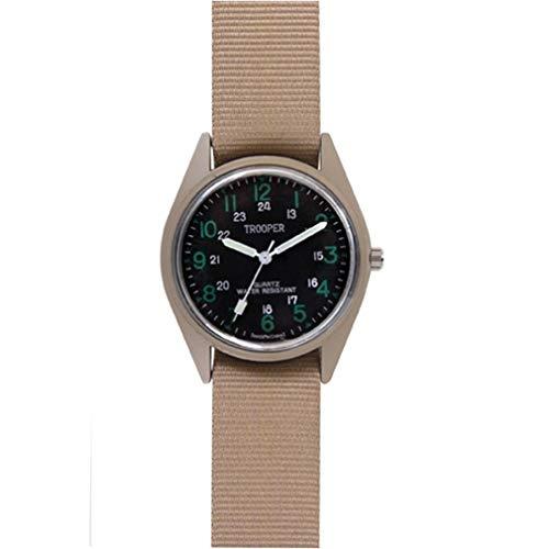 BlackC Sport Military Style Quartz Watch Tan by BlackC Sport