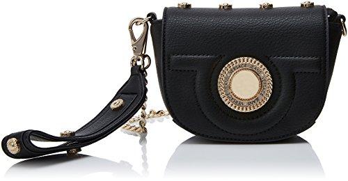 Versace Jeans Ee1vrbbl3 E70037 - Bolso bandolera Mujer Negro (Nero E899)
