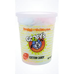 Disney Parks Goofy's Candy Company Cotton Candy - Cherry Berry and Blue Raspberry