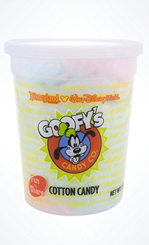 Disney Parks Goofy's Candy Company Cotton Candy - Cherry Berry and Blue Raspberry ()