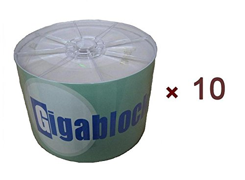 500pcs DVD-R 16x DVD Blank Disc Media with Same Day EXPEDITE SHIPPING Limited Time Offer by Gigablock