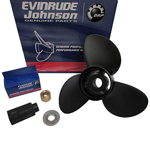 Evinrude/Johnson/OMC New OEM Prop 14.3x21 Propeller 765189 0765189 763469 Cobra primary