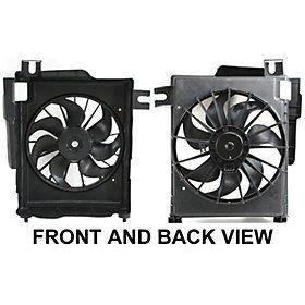 Motor Fan Cooling Shroud Auto (Dodge Ram 02 03 04 05 06 A/C Cooling Fan Shroud)
