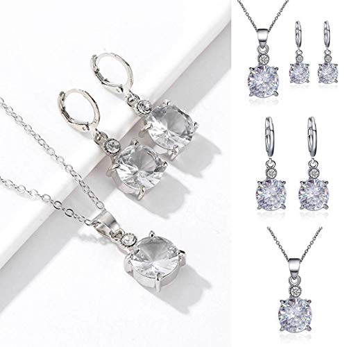 GoodKE New Fashion Women Necklace and Earrings Charm Jewelry Set Jewelry Sets