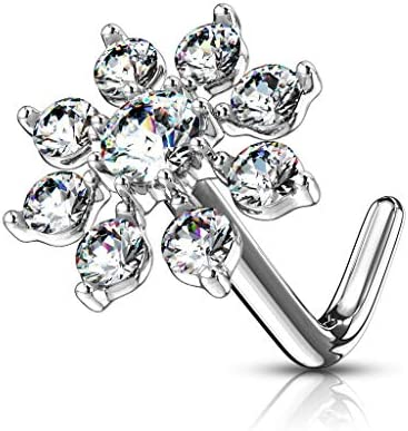 Forbidden Body Jewelry Surgical Snowflake product image