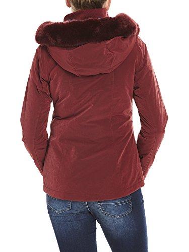 Rd11343 cabernet Asymmetrical Rouge Jacket Blouson Core Bench Femme xnYS0wZwq