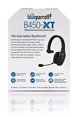 9f0aed40cc4 BlueParrott B450-XT Noise Canceling Bluetooth Headset - Buy Online ...