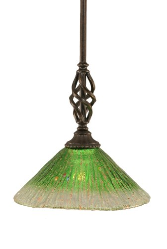 Dark Green Pendant Light in US - 4