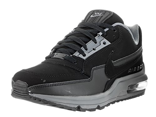 NIKE Mens Air Max Ltd 3 Running Shoe,Black,11 D(M) US