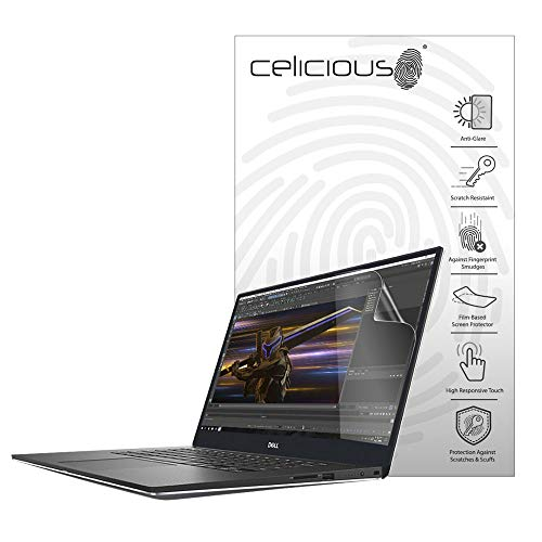 Celicious Matte Anti-Glare Screen Protector Film Compatible with Dell Precision 15 5540 (Non-Touch) [Pack of 2]