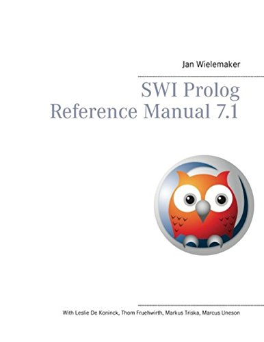 Swi PROLOG Reference Manual 7.1 by Wielemaker Jan