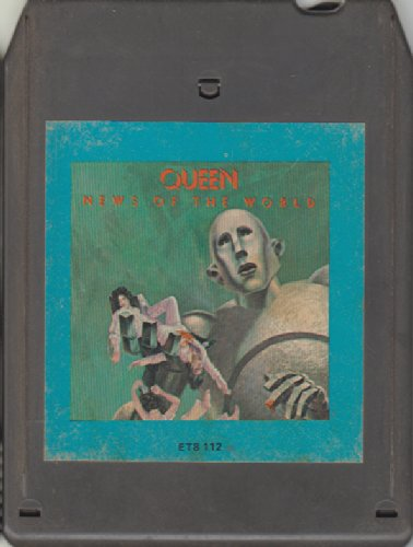 Queen: News of the World - 8 Track Tape
