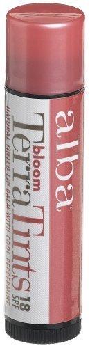 Alba Botanica Bloom Terratints Tinted Lip Balm, Bloom, .15-Ounce Tube (Pack of 3) by Alba (Bloom Tinted Lip Balm)
