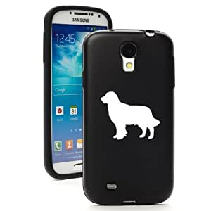 Black Samsung Galaxy S4 S IV i9500 Aluminum & Silicone Hard Back Case Cover KA336 Golden Retriever