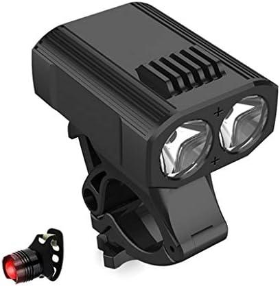自転車ライト、超明るいUSB充電式自転車ヘッドライトテールライト、5つの照明モード、マウンテンチルドレンストリートバイクに適した防水