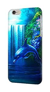 S0385 Dolphin Case Cover for IPHONE 5C