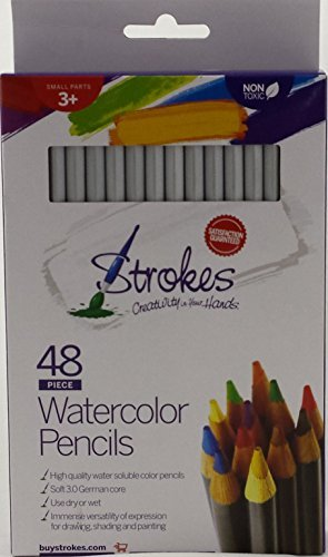 Strokes Art Quality Watercolor Soluble