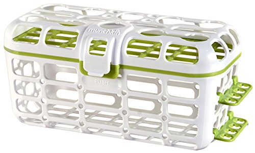 Munchkin Deluxe Dishwasher Basket, Colors May Vary Deluxe Infant Dishwasher Basket