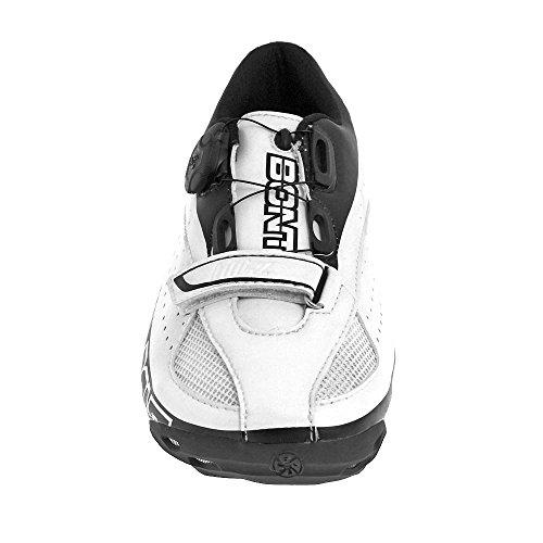 Bont Blitz - Zapatillas Hombre - blanco/negro Talla 45 2015