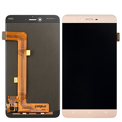 New Digitizer - for BLU Vivo 5 V0050UU LCD Digitizer Replacement HYYT New LCD Display + Touch Screen Digitizer Full of Assembly (Gold)