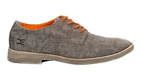 Dude Shoes Men's Dude Volterra Canvas Brown Brown