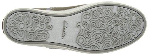 Plain Clarks da Rorric Verde Olive Uomo Canvas Sneakers 55Av6a