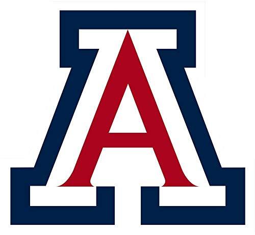 Arizona Wildcats NCAA - Peel and Stick Sticker Graphic - Auto, Wall, Laptop, Cell, Truck Sticker for Windows, Cars, Trucks