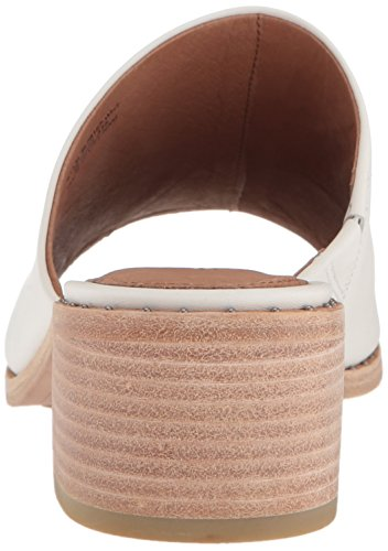 Frye White Sandal Mule Cindy Heeled Women's 6vgTrq6