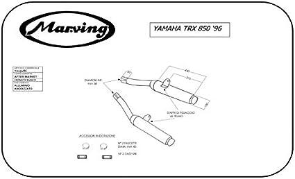 Marving Y/2151/bc Yamaha TRX 850 96: Amazon.es: Coche y moto