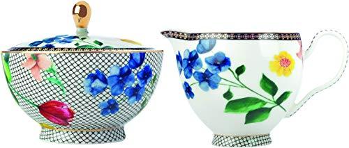- Maxwell Williams HV0058 Teas & C's Milk Jug & Sugar Bowl with Contessa Design